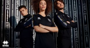 Parma Calcio debuts new Errea 'STRIPE iD 2019' leisurewear collection!