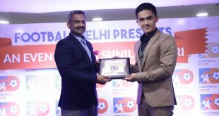 Sunil Chhetri awarded Football Ratna by Football Delhi!