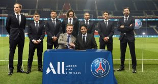 Paris Saint Germain name Accor Live Limitless as new shirt sponsors!