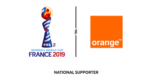 Orange signs as National Supporter of 2019 FIFA Women's World Cup!