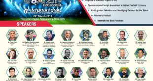 Speakers for FICCI GOAL 2019 – India Football conference in New Delhi announced!