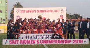 India clinch 5th SAFF Women's Cup after 3-1 win over hosts Nepal!