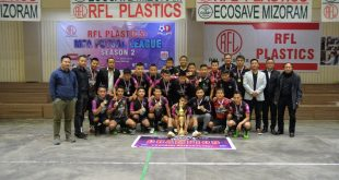 Chanmari Zothan Futsal are the champions of Mizoram FA Futsal League!