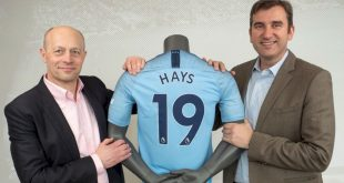 Hays & Manchester City renew partnership until 2023!