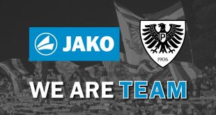JAKO become new technical partner of Preußen Münster!
