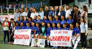 GSA ITI Veng are the Mizoram Women's League champions!