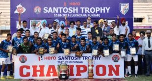 Bikash Thapa strike hands Services their 6th Santosh Trophy over hosts Punjab!