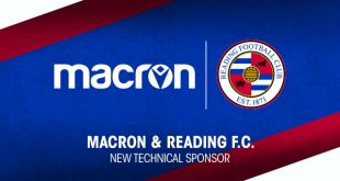Macron is the new Technical Sponsor of Reading FC!