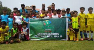 AIFF celebrates AFC Grassroots Football Day 2019!