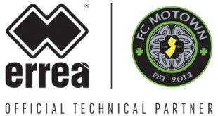 Errea is the new official technical partner for FC Motown!