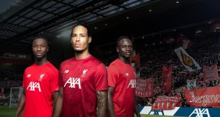 AXA named Liverpool FC's official training kit partner!