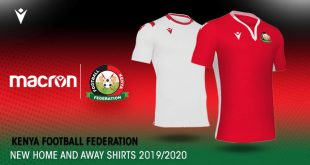 Kenya Football Federation partners Macron & presents new kits!