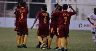 SSB trash Panjim Footballers, close in on IWL semifinal spot!