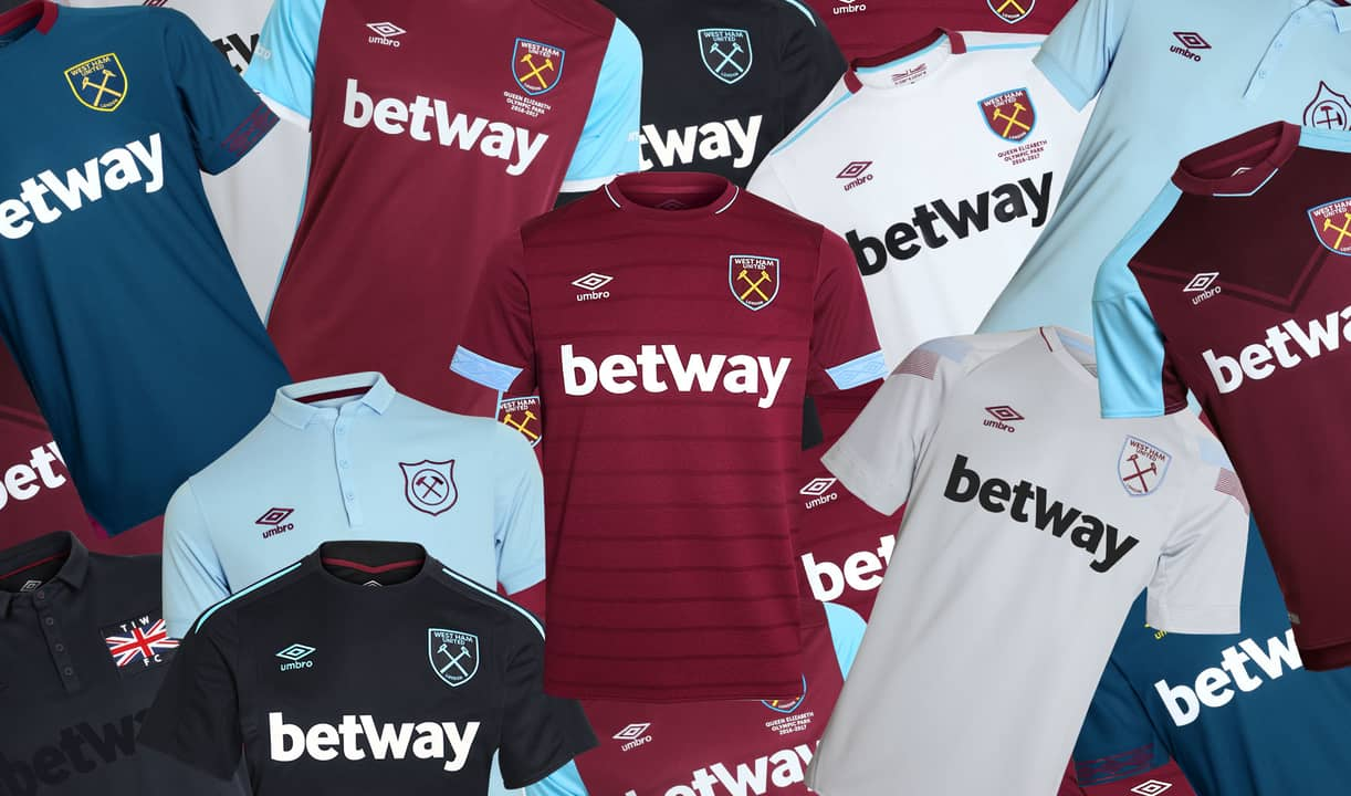 7d3c5ce14a5 UMBRO extends partnership with West Ham United as technical partner!