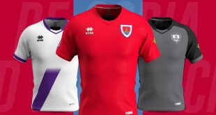 Innovation, elegance & clean lines for the new Errea kits for CD Numancia!