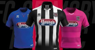 Errea & Grimsby Town FC's launch new 2019/20 season kits!
