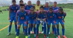 India U-17 Women score 4-0 friendly win over Tai Po in Hong Kong!