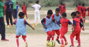 Over 150 kids participated as Jamshedpur FC & TSRDS organise a Football Festival in Gorgora!