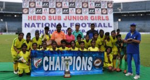 Jharkhand score four past Arunachal Pradesh to lift Sub-Junior Girls Championship!