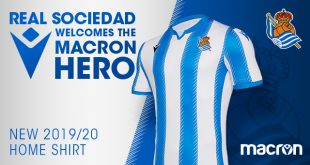 Macron & Real Sociedad unveil new 2019/20 home jersey!