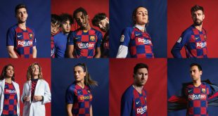 FC Barcelona salutes Eixample District Grid with 2019/20 Nike home kit!