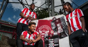 UMBRO & Brentford FC launch new 2019/20 season home kit!