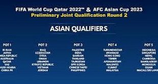 LIVESTREAM – Joint 2022 FIFA World Cup & 2023 AFC Asian Cup – Round 2 qualifiers!
