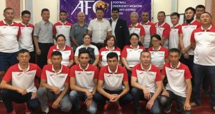AFC Football Emergency Medicine and Anti-Doping Course launched in Bishkek!
