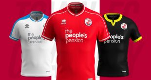 Errea launch Crawley Town FC's shirts for 2019/20 season!