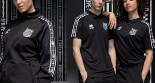 Grimsby Town FC too is now wearing the new Stripe iD range from Errea!