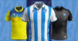 Errea & Pescara Calcio unveil the new official kits for 2019/20!