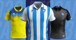 Errea & Pescara Calcio unveil the new official kits for 2019/20!