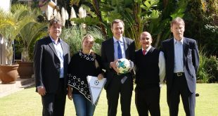 The German Football Ambassador goes South Africa!
