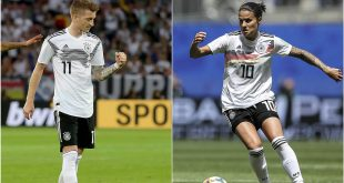 Marozsan & Reus named Germany's footballers of the year!