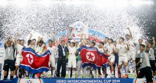 North Korea beat Tajikistan to lift Intercontinental Cup!
