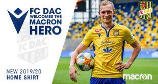 Macron & FC DAC 1904 introduce the new home shirt!