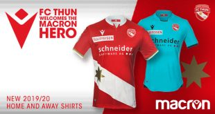 Macron & FC Thun unveil their new 2019/20 home & away kits!