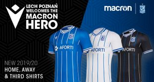 Macron & Lech Poznan present the new 2019/20 season kits!