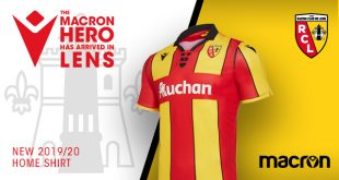 Macron & RC Lens have unveiled the new 2019/20 home kit!