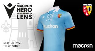 Macron & RC Lens have unveiled the clubs new third kit!