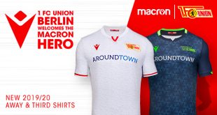 1.FC Union Berlin & Macron present second & third kits for 2019/20 season!
