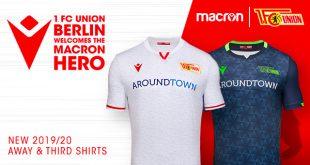 1.FC Union Berlin & Macron present second & third kits for 2019/20 season!