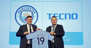 Manchester City extend Global Partnership with Tecno Mobile!
