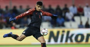 India keeper Gurpreet Singh Sandhu to receive 2019 Arjuna Award!