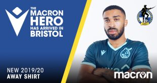 Bristol Rovers & Macron have revealed the new away shirt!