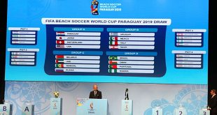 2019 FIFA Beach Soccer World Cup: Paraguay face Japan in opener!