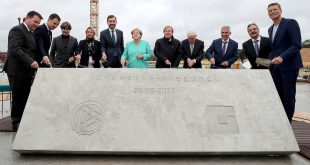 Cornerstone laid for Germany's new DFB complex!