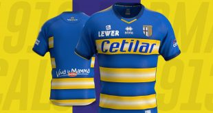 The 2019/20 away shirt for Parma Calcio 1913 is unveiled!