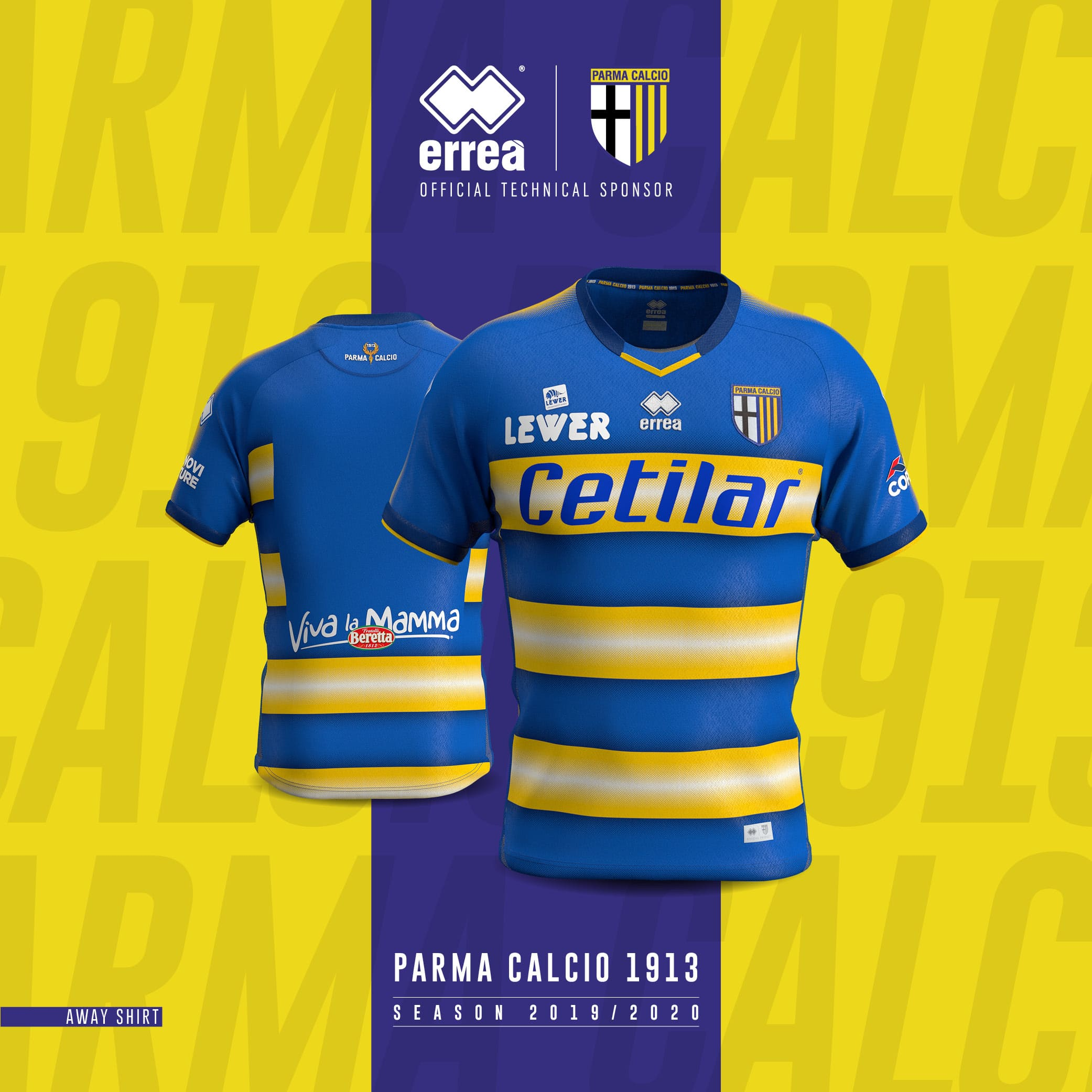 competitive price 6a42b 05fc5 The 2019/20 away shirt for Parma Calcio 1913 is unveiled!