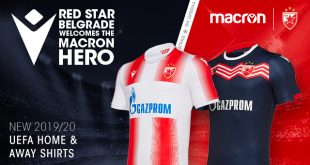 Red Star Belgrade & Macron unveil the new UEFA kits for the 2019/20 season!